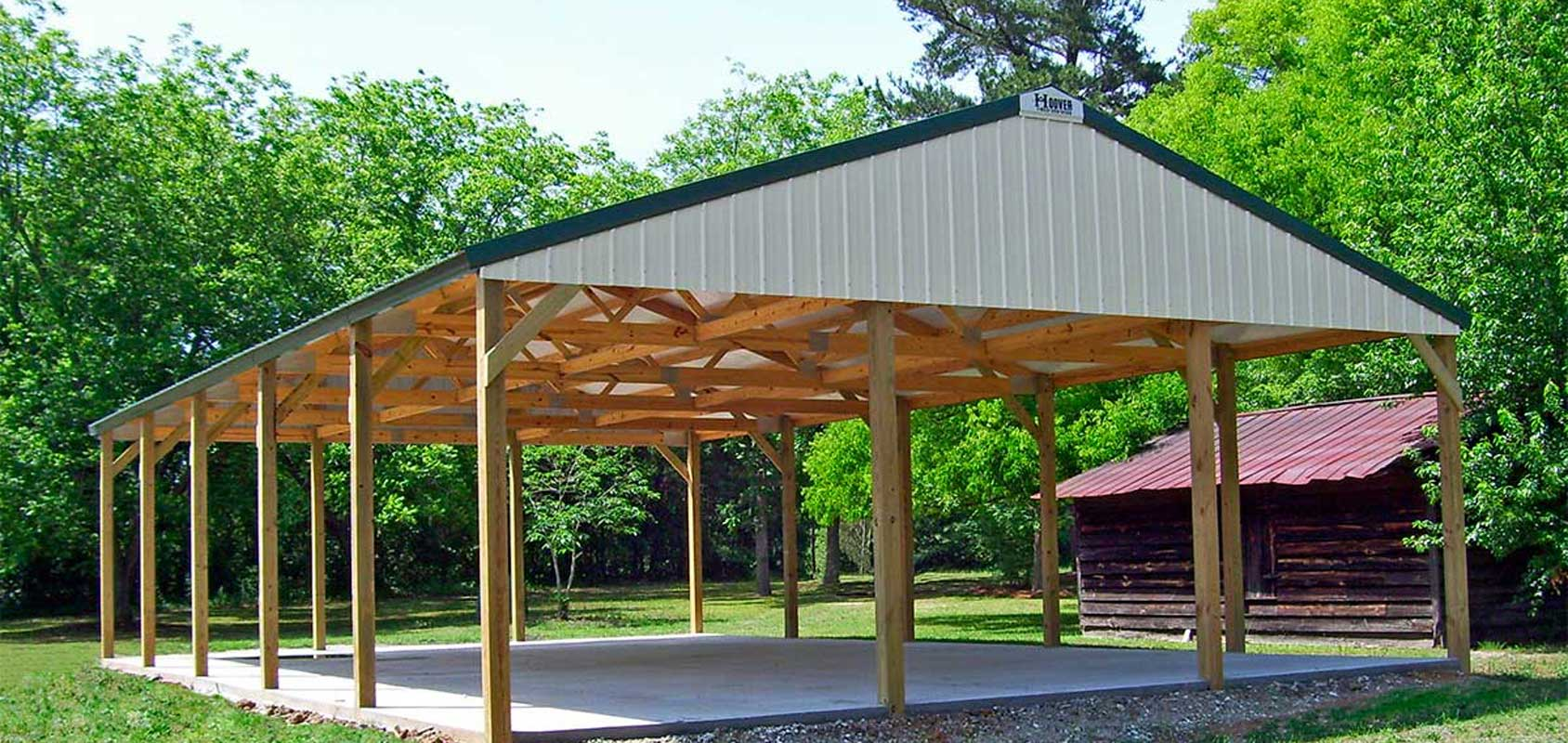Pole Building Shelter