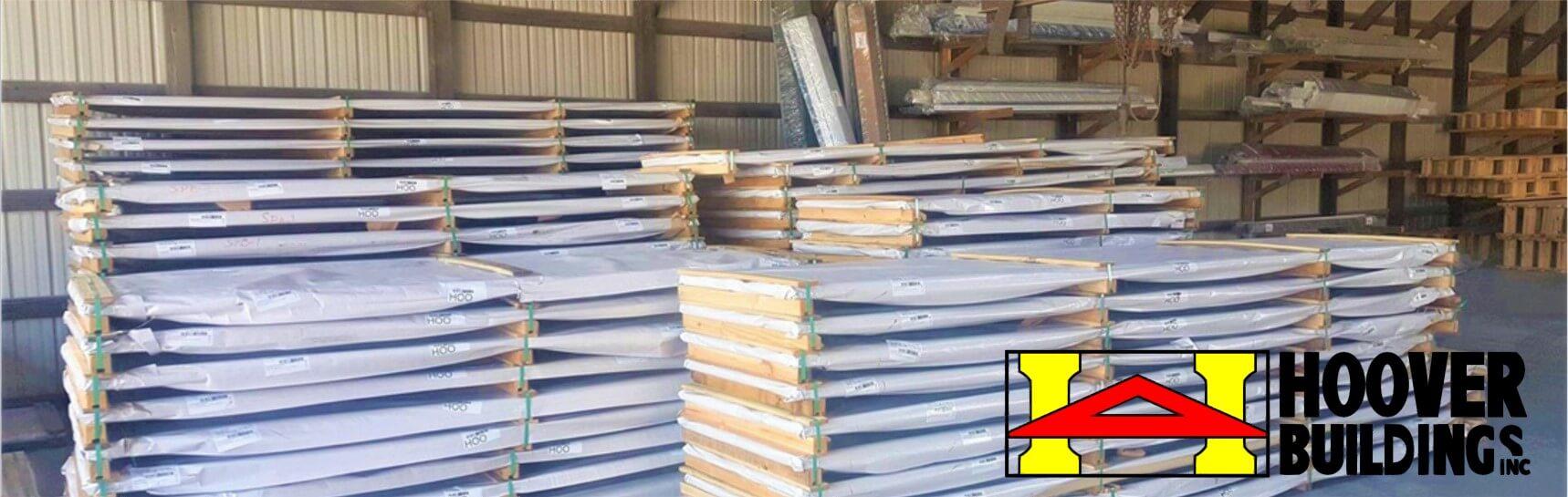 Pole building materials
