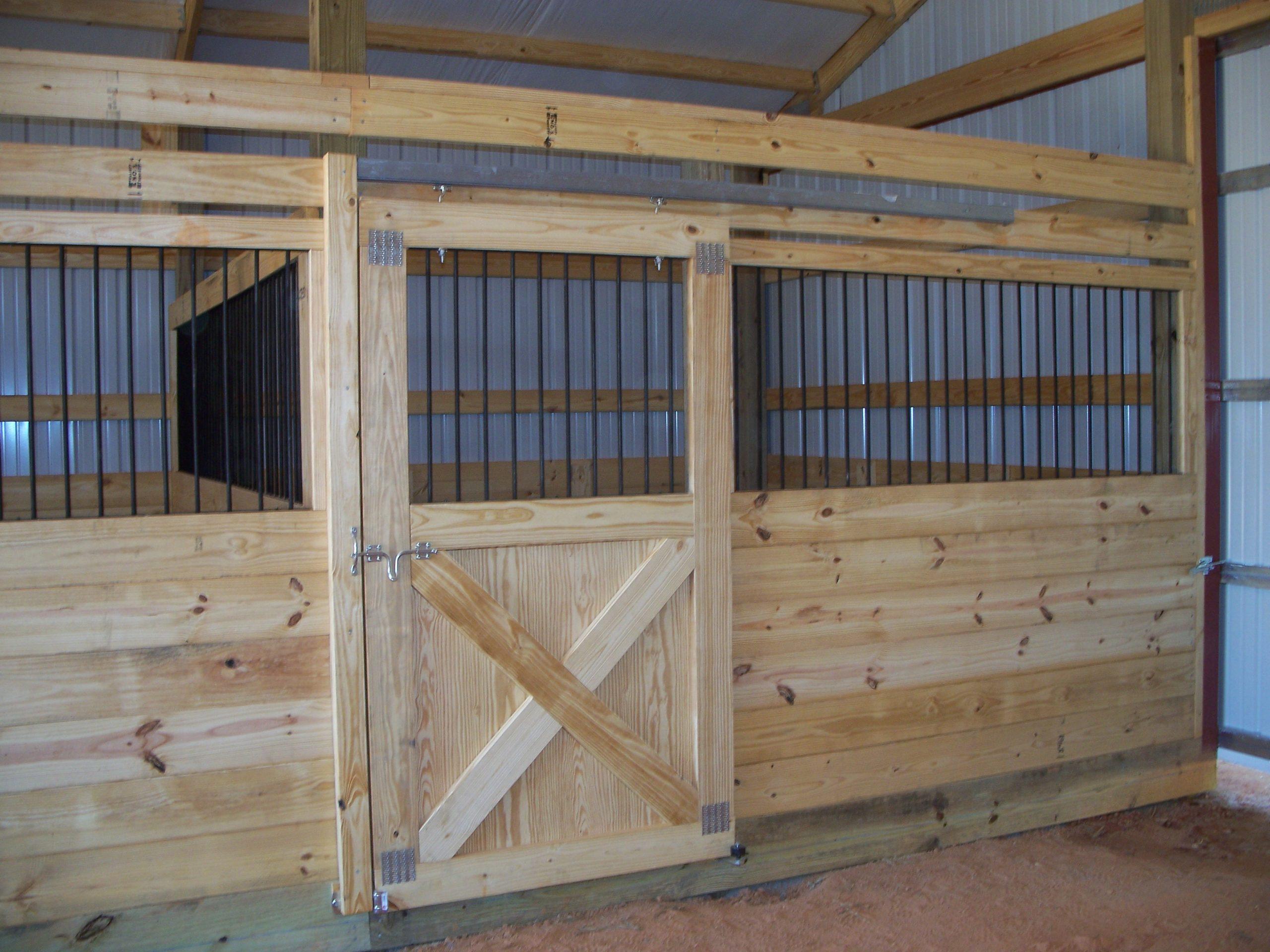 Horse Barn Stall